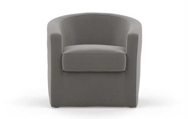 Alice by Alison Victoria Chairs in Greige Fabric - Interior Define