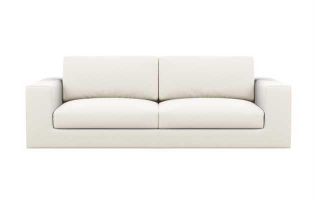 Walters Sofa in Ivory Fabric - Interior Define