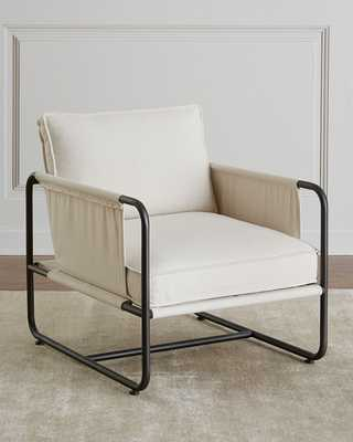 Piper Iron Frame Chair - Horchow