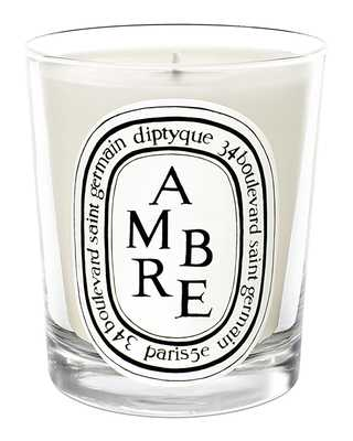 Ambre (Amber) Scented Candle, 10.6 oz. - Horchow