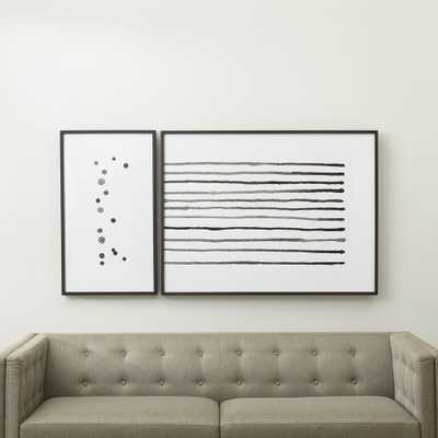Stars and Stripes Prints, Set of 2 - Crate and Barrel