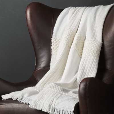 Covello Chunky Throw Blanket - Crate and Barrel