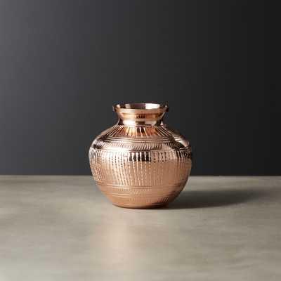 Tinsel Copper Vase - CB2