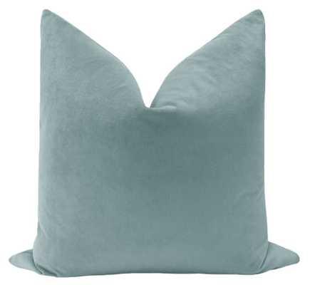 "Velvet Collection // Cerulean Blue - 20"" X 20"" - Little Design Company"