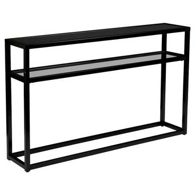 Console Table Soft Black - Holly & Martin - Target