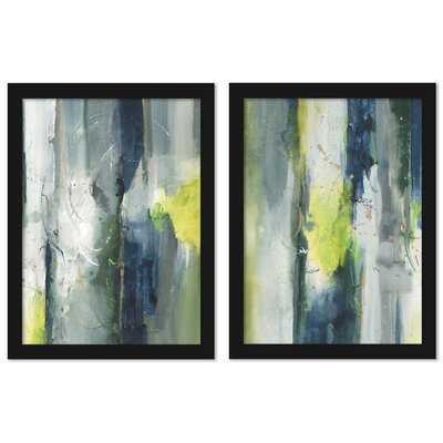 Treetops - 2 Piece Painting Print Set - Wayfair