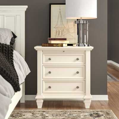 Magness 3 Drawer Nightstand - Wayfair