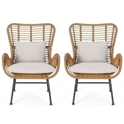 Tarnowsk Armchair, Set of 2 - Wayfair