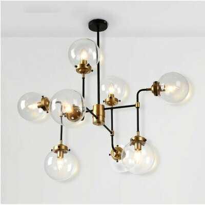 Courtdale 8 - Light Sputnik Tiered Chandelier - Wayfair