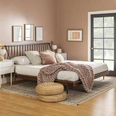 Dorinda King Solid Wood Platform Bed - Wayfair