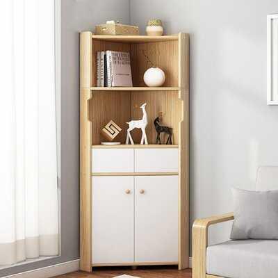 Bleskoski Corner Bookcase - Wayfair