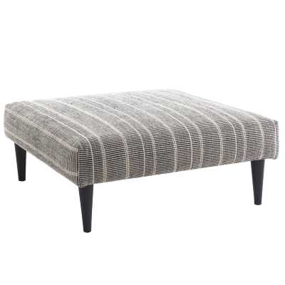 Annie Selke Home Samson Cocktail Ottoman Leg Color: Walnut - Perigold