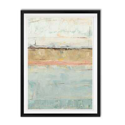 'Pastel Horizon I' - Painting Print on Canvas - Wayfair