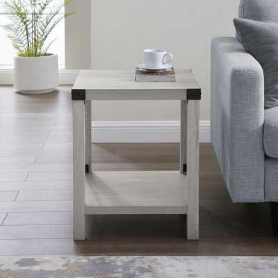 Arsenault End Table with Storage - Wayfair