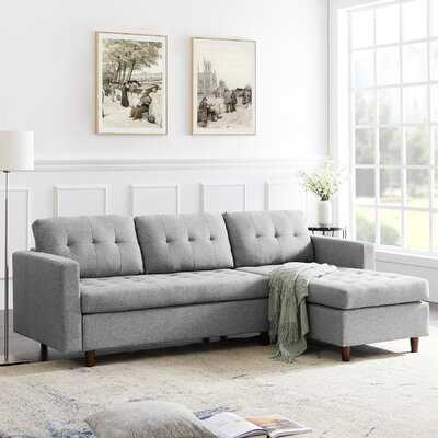 Elginpark 85.83'' Reversible Modular Sofa & Chaise - Wayfair