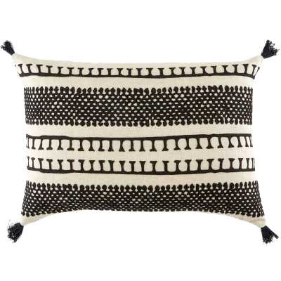 Bowery Linen Lumbar Pillow Fill Material: Down/Feather - Perigold