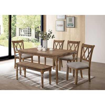 Bedlington 6 Piece Dining Set - Wayfair