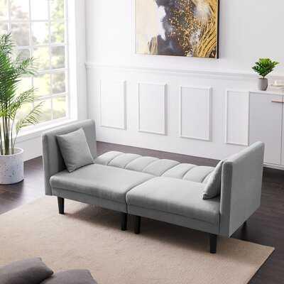 Loveseat Sleeper With Detachable Armrests - Wayfair
