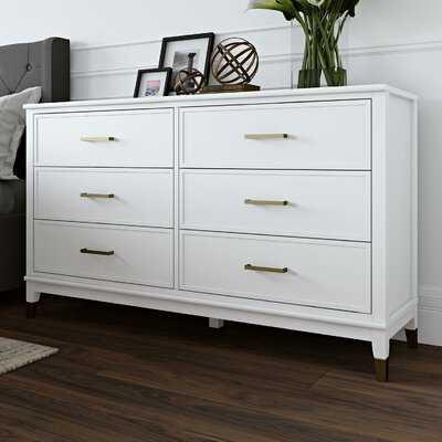 Westerleigh 6 Drawer Double Dresser - Birch Lane