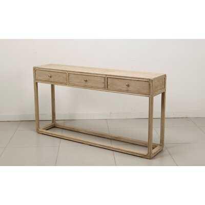 "Oluwatobiloba 63"" Solid Wood Console Table - Wayfair"
