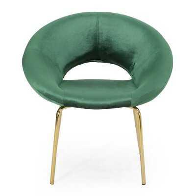 Palmer Modern Glam Papasan Chair - Wayfair