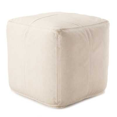 Ivan Pouf, Cream - Cove Goods