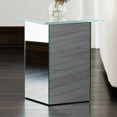 Muse Mirror Side Table - CB2