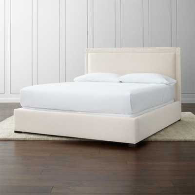 Border Upholstered California King Bed - Crate and Barrel