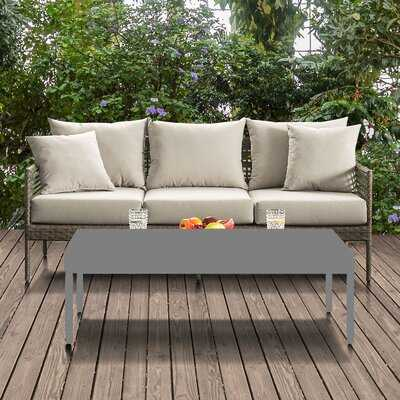 Cumminsville Patio Sofa with Cushions - Wayfair