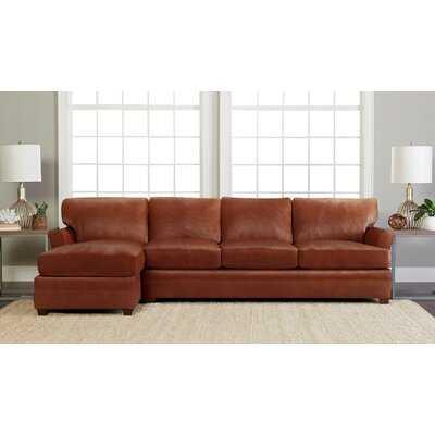 Leather Sectional - Wayfair