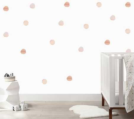 Watercolor Dots Wall Decal - Pottery Barn Kids