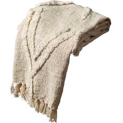 Shamar Scandinavian Cotton Throw - AllModern