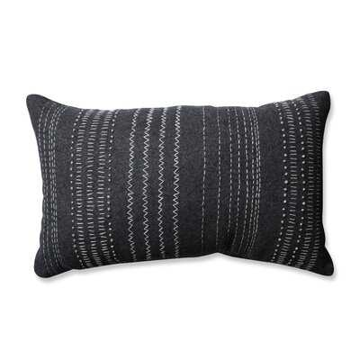 Verdie Tribal Stitches Cotton Lumbar Pillow - Wayfair