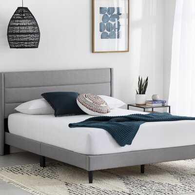 Annaalicia Upholstered Low Profile Platform Bed - Wayfair
