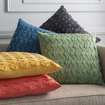 Isai Cotton Chevron Throw Pillow - Wayfair