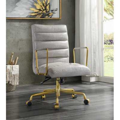 Alvy Office Chair In Vintage White - Wayfair
