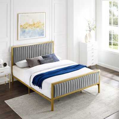 Kinzie Tufted Upholstered Standard Bed - Wayfair