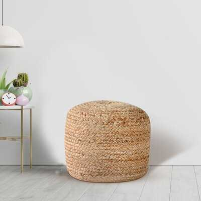 Hedy Upholstered Round Pouf - Wayfair