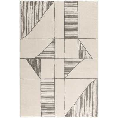 Poly and Bark Siriat 6'x9' Area Rug in Off-White, Vintage Cream - Home Depot