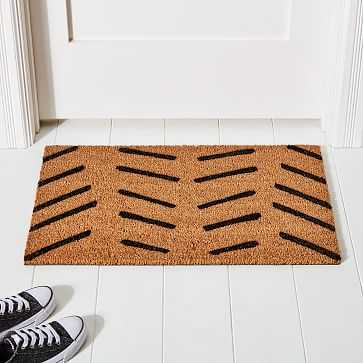 Nickel Designs, Doormat, Stripe - West Elm