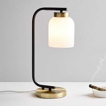 Suspended Glass Table Lamp - West Elm