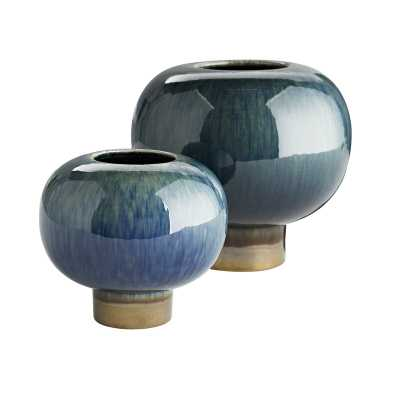 ARTERIORS Turtle 2 Piece Table Vase Set - Perigold