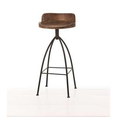 "ARTERIORS Henson Swivel Bar & Counter Stool Seat Height: Bar Stool (30"" Seat Height) - Perigold"