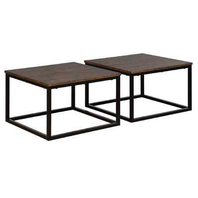 Hensley 2 Piece Square Coffee Table Set - Birch Lane