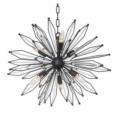 Cheree 6 - Light Sputnik Globe Chandelier with Crystal Accents - Wayfair