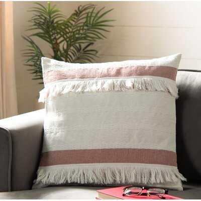 Sagunto 100% Cotton Striped Throw Pillow - Wayfair