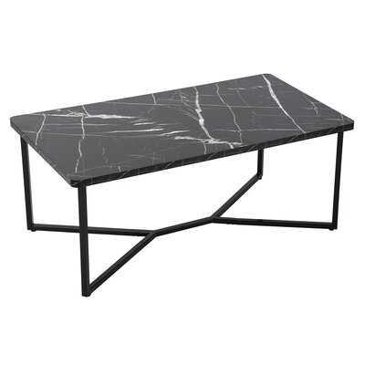 Briny Cross Legs Coffee Table - Wayfair