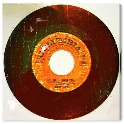 Music and Dance Rebel Vinyl Vinyl Records - Wrapped Canvas Print - Wayfair