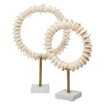 2 Piece Conway Ring Sculpture Set - Wayfair