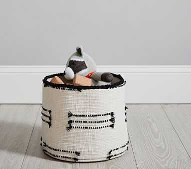 Black and White Storage, Small - Pottery Barn Kids